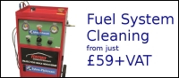 FUEL SYSTEM CLEANING FROM £59+vat